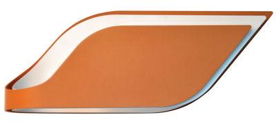 Applique Foliage / plafonnier - L 38 cm - Lumen Center Italia blanc,orange en métal
