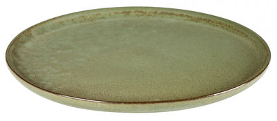 Arts de la table - Assiettes - Assiette Surface / Ø 27 cm - By Sergio Herman - Serax - Vert Camogreen - Céramique émaillée