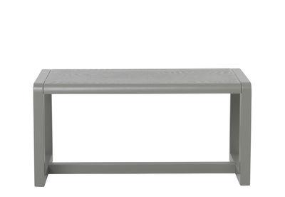Banc enfant Little Architect / Bois - L 62 cm - Ferm Living gris en bois