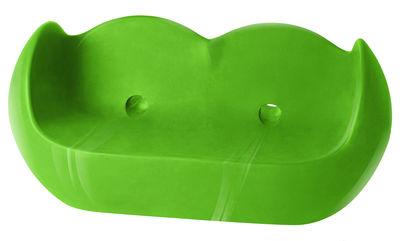 Canapé Blossy / L 159 cm - Version laquée - Slide laqué vert en matière plastique