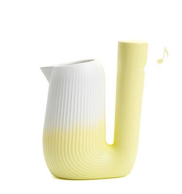 Tavola - Caraffe e Decantatori - Caraffa Pan - / Sibilante - 1L di Moustache - Giallo - Ceramica smaltata