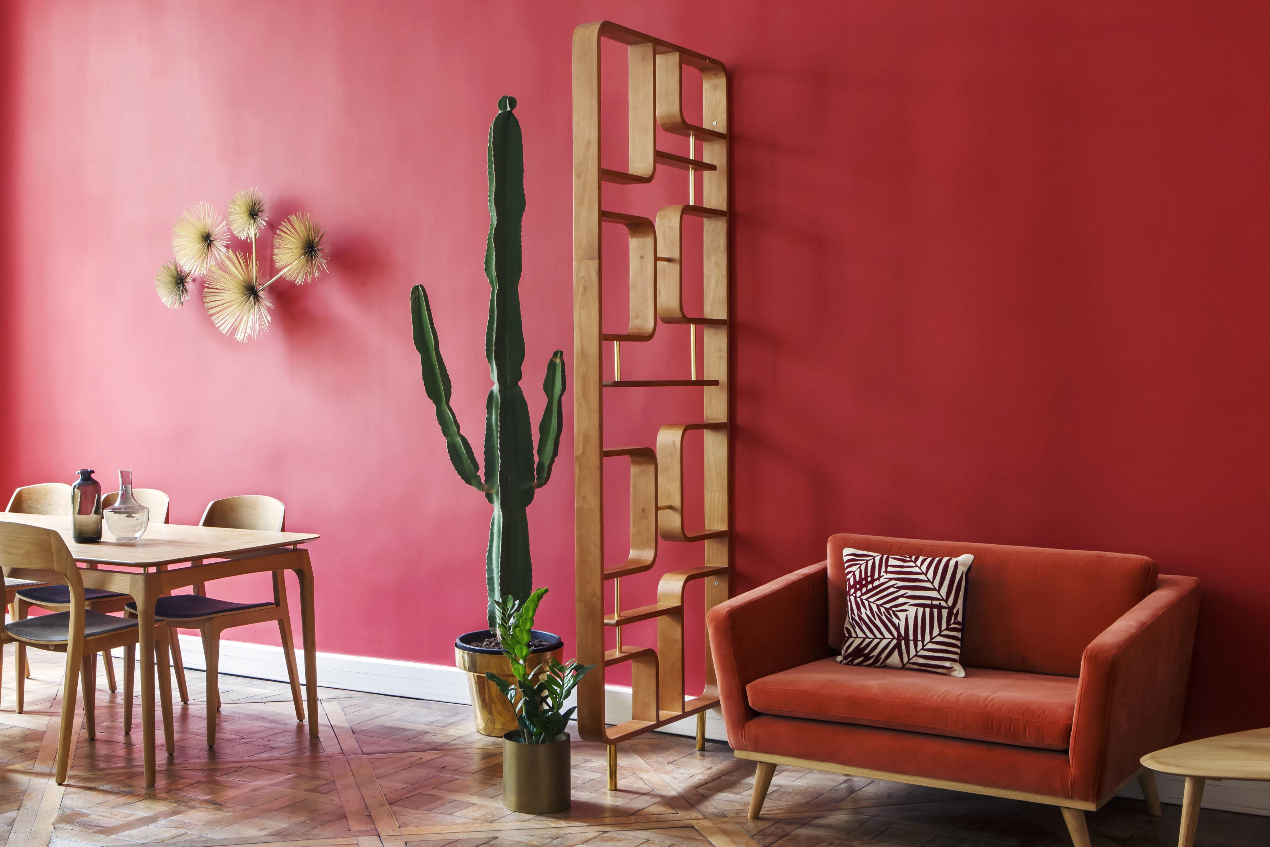 Cloison Claustra / étagère - Bois - L 90 x H 240 cm - RED Edition
