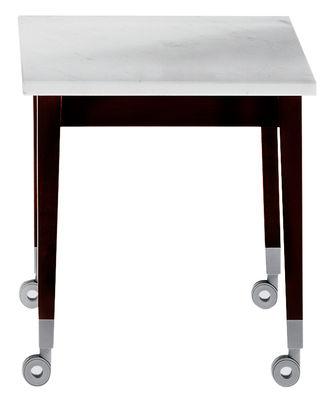 Möbel - Couchtische - Neoz Couchtisch - Driade - Ebenholz / Marmor - Mahagoni, Marmor
