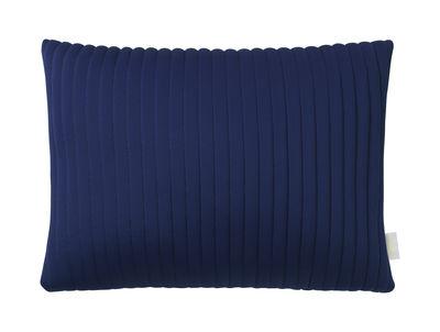 Déco - Coussins - Coussin Linear Memory / 55 x 40 cm - Mémoire de forme & tissu 3D - Nomess - Bleu - Mousse à mémoire de forme, Tissu 3D