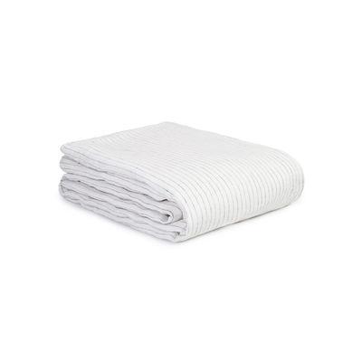 Déco - Textile - Housse de couette 200 x 200 cm / Lin lavé - Au Printemps Paris - 200 x 200 cm / Rayé écru - Lin lavé
