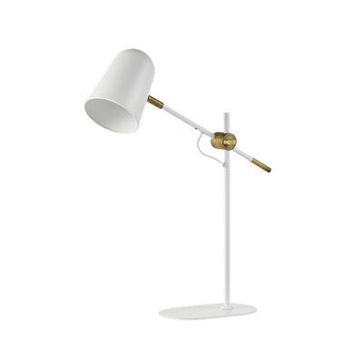Image of Lampada da tavolo Bureau - / Orientabile di Bolia - Bianco - Metallo