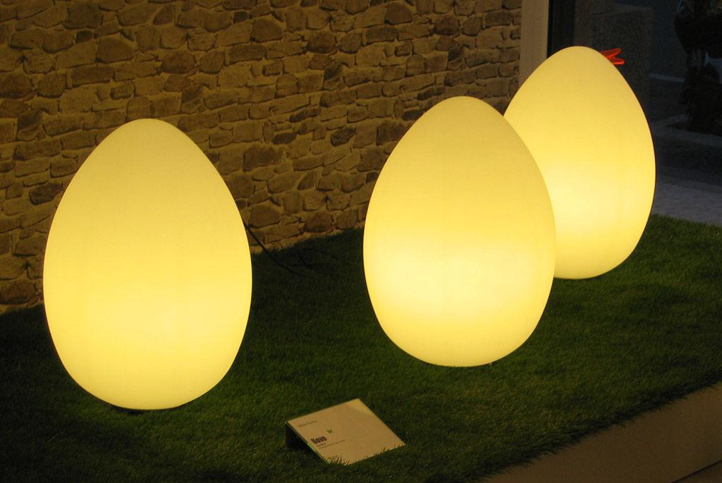 Uovo lampada da tavolo h cm by fontana arte made in design