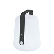 Lampe sans fil Balad Small LED / H 25 cm - Recharge USB - Fermob carbone en matière plastique