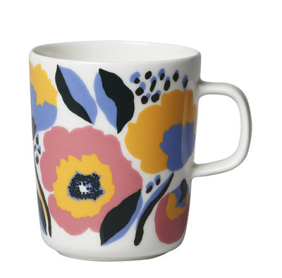 Mug Rosarium / 25 cl - Marimekko bleu,rose en céramique