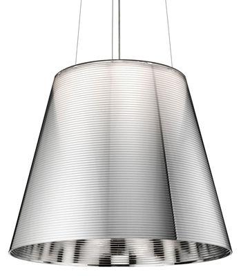 K Tribe S3 Pendelleuchte Ø 55 cm - Flos - Silber metallic