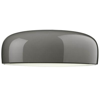 Plafonnier Smithfield Pro / LED - Flos gris taupe en métal