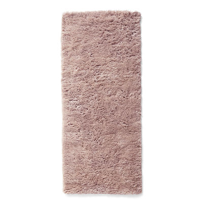 Decoration - Rugs - Shaggy Rug - / 80 x 200 cm by Hay - Pink - Wool