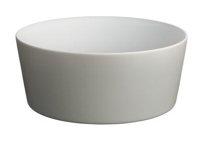 Saladier Tonale / Ø 23 cm - Alessi blanc/gris en céramique