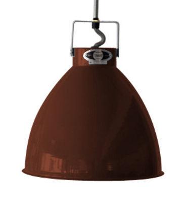 Suspension Augustin Small Ø 16 cm - Jieldé chocolat brillant en métal