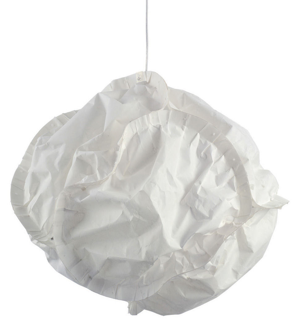 Luminaire - Suspensions - Suspension Cloud / Ø 52 cm - Belux - Ø 52 cm - Blanc cassé - Polyester