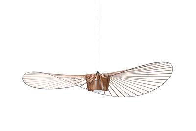 Suspension Vertigo Small / Ø 140 cm - Petite Friture orange/cuivre en matière plastique