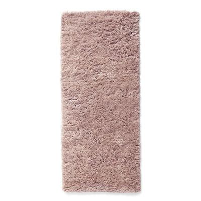 Déco - Tapis - Tapis Shaggy / 80 x 200 cm - Poils longs - Hay - Rose - Laine