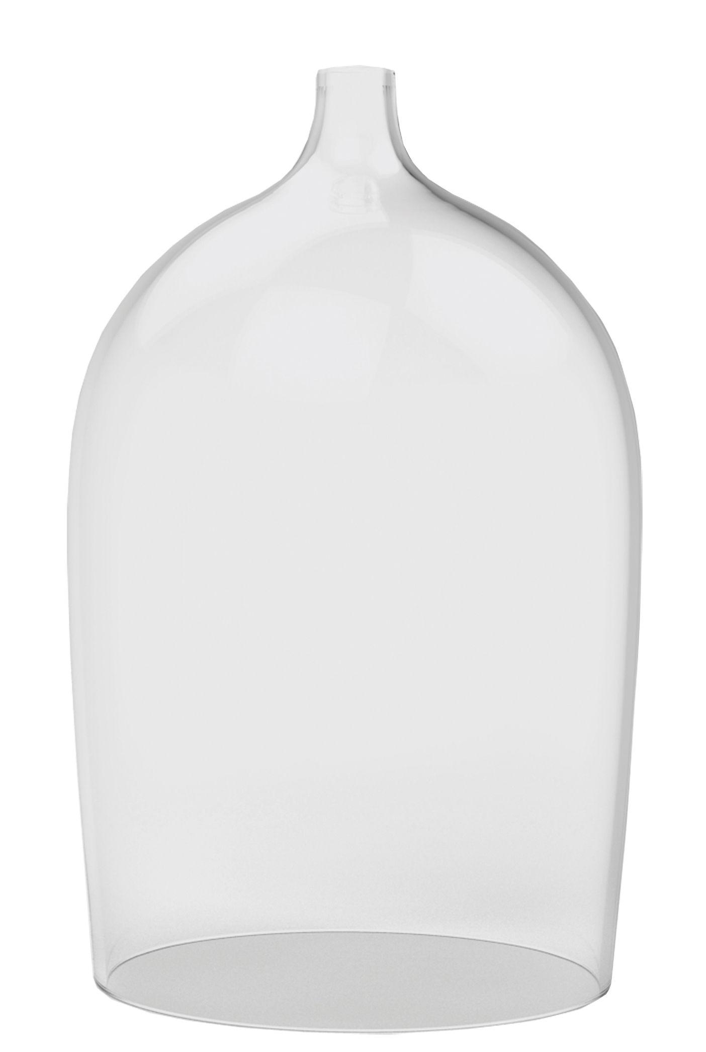 Déco - Vases - Vitrine  Nippy / Soliflore - H 24 cm - Piergil Fourquié - Designerbox - Transparent - Verre soufflé