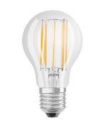 Ampoule LED E27 / Standard claire - 11W=100W (2700K, blanc chaud) - Osram transparent en verre