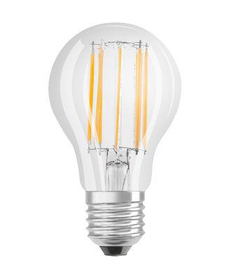 Ampoule LED E27 dimmable / Standard claire - 12W=100W (2700K, blanc chaud) - Osram transparent en verre