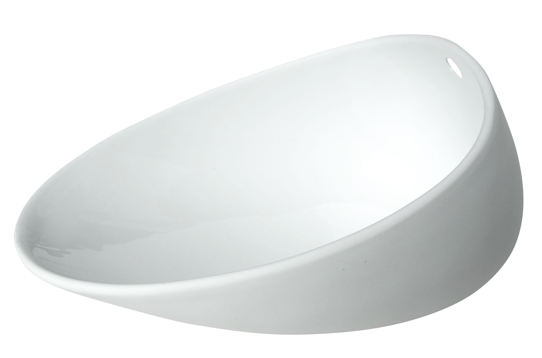 Arts de la table - Assiettes - Assiette creuse Jomon Large / Bol - 18 x 14 cm - cookplay - Blanc - Porcelaine