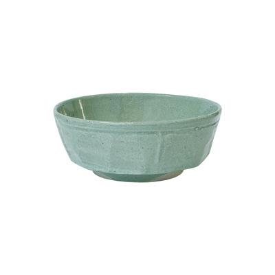 Arts de la table - Saladiers, coupes et bols - Bol Dashi / Ø 16,5 x H 6 cm - Grès fait main - Jars Céramistes - Vert doux - Grès émaillé