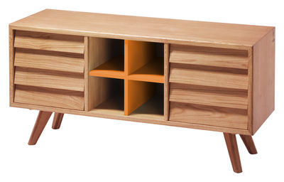 Buffet Remix - The Hansen Family orange,bois clair en bois