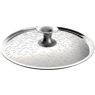 Cuisine - Casseroles, poêles, plats... - Couvercle Dressed / Ø 28 cm - Alessi - Acier inoxydable - Acier