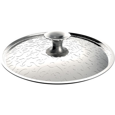 Kitchenware - Dishes and cooking - Dressed Lid - Ø 28 cm by Alessi - Stainless steel - Steel