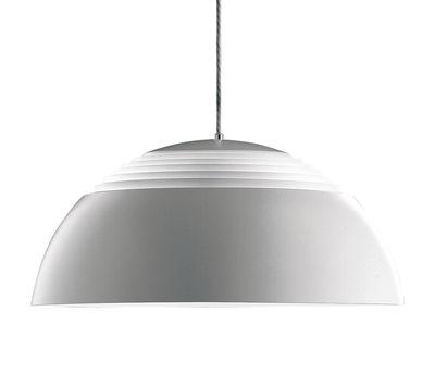 Lighting - Pendant Lighting - AJ Royal Pendant - Ø 37 cm by Louis Poulsen - White - Acrylic, Steel