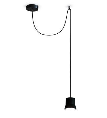 Gio Light Décentrée Pendelleuchte / LED - Ø 10,7 cm - Artemide - Schwarz