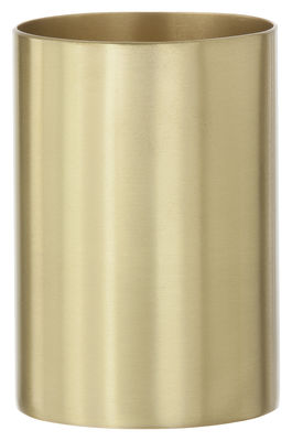 Accessori moda - Accessori ufficio - Portamatite Brass di Ferm Living - Ottone - Ottone