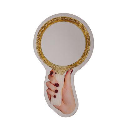 Interni - Specchi - Specchio murale Vanity - / 41 x H 70 cm di Seletti - Vanity - Vetro serigrafato