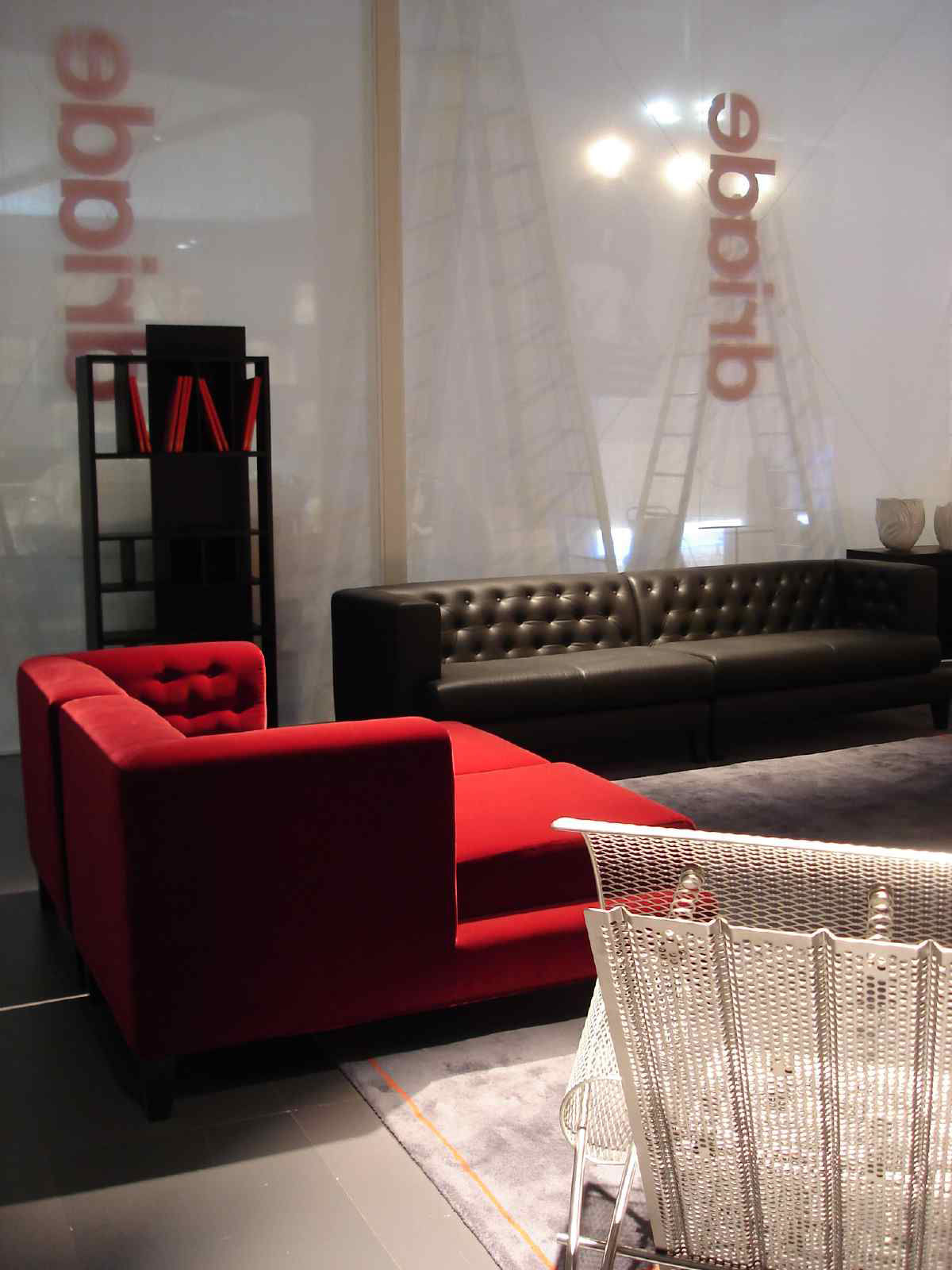 Driade Hall Straight sofa - White | Made In Design UK