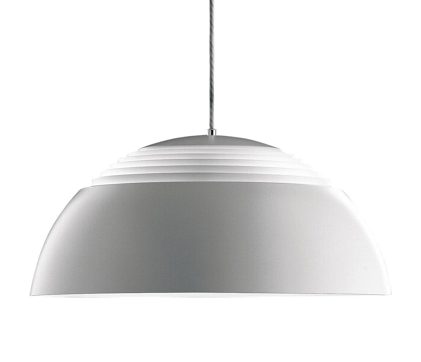 Luminaire - Suspensions - Suspension AJ Royal Ø 37 cm - Louis Poulsen - Blanc - Acier, Acrylique