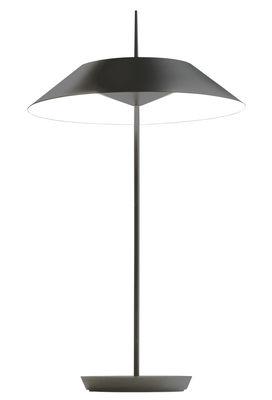 Lighting - Table Lamps - Mayfair Table lamp - LED / H 52 cm by Vibia - Matt graphite -  Zamak, Methacrylate, Steel