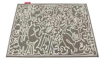 Tapis d'extérieur Carpet Diem / 160 x 230 cm - Fatboy taupe en tissu