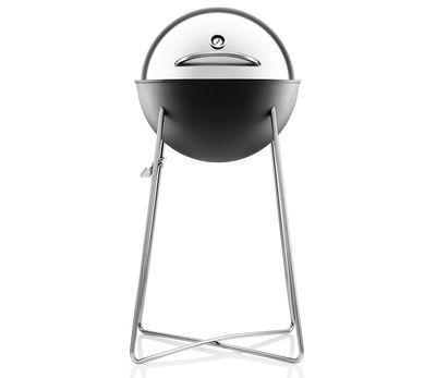 Jardin - Barbecues et braséros - Barbecue à charbon Grill globe Ø 47 cm - Eva Solo - Acier inoxydable & noir - Acier, Aluminium