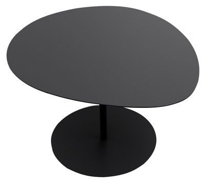 Furniture - Coffee Tables - Galet n°1 Coffee table by Matière Grise - Black - Steel