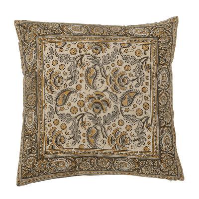 Déco - Coussins - Coussin Nill / 40 x 40 cm - Bloomingville - Jaune - Coton, Polyester
