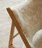 Fauteuil Knitting / Peau de mouton - Menu