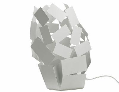 Illuminazione - Lampade da tavolo - Lampada da tavolo La Stanza dello Scirocco di Alessi - Bianco - Acciaio inossidabile con colorazione resina epossidica