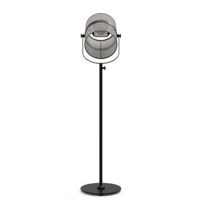 Lampadaire solaire La Lampe Paris LED / Sans fil - Maiori noir,taupe clair en métal