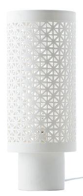 Lampe de table Stars Large / Porcelaine - H 38 m - Pols Potten blanc en céramique