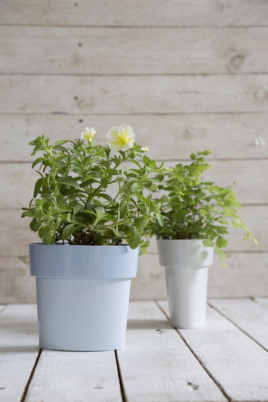 pot de fleurs slim pa design bleu made in design. Black Bedroom Furniture Sets. Home Design Ideas