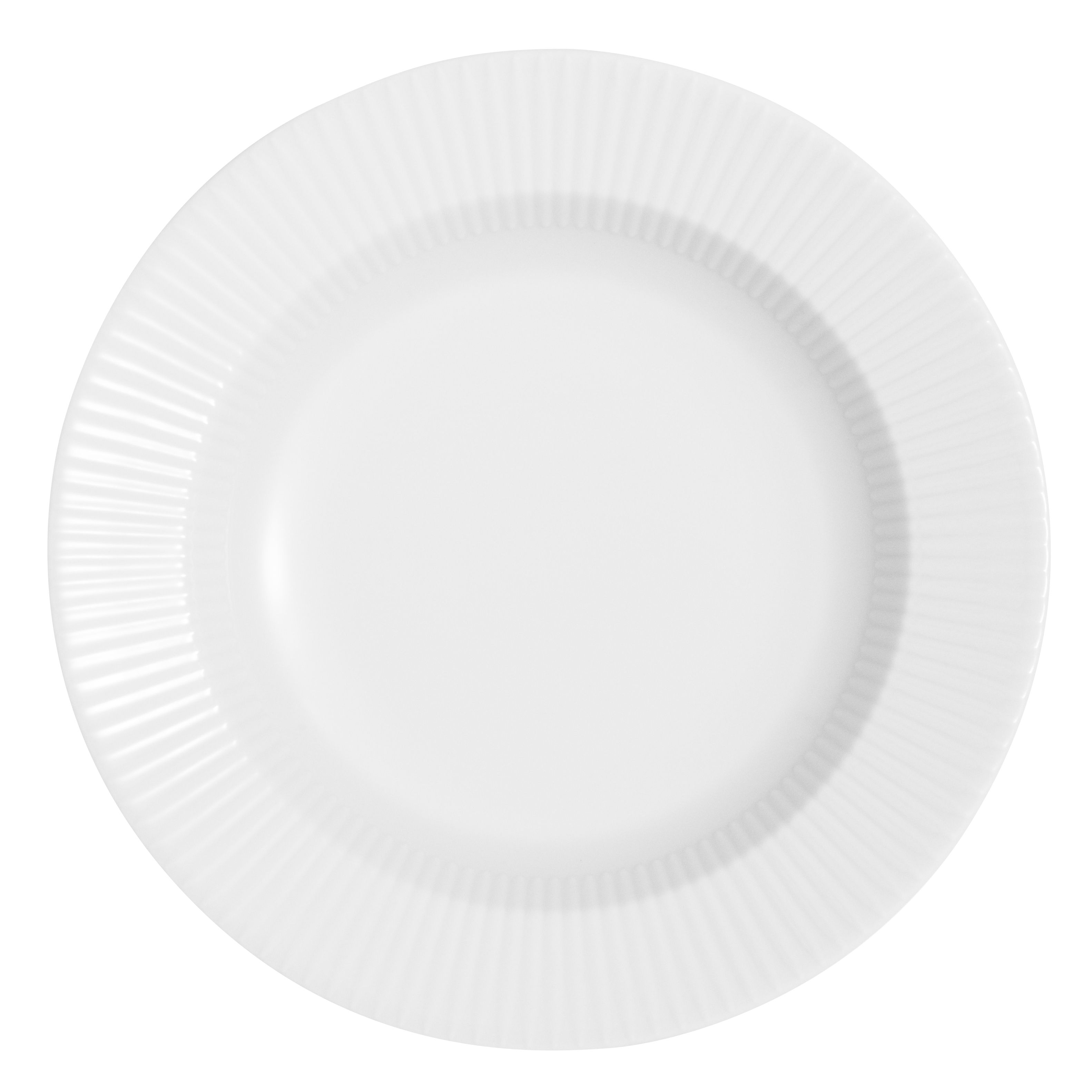 Tableware - Plates - Legio Nova Soup plate - Ø 25 cm by Eva Trio - White - China