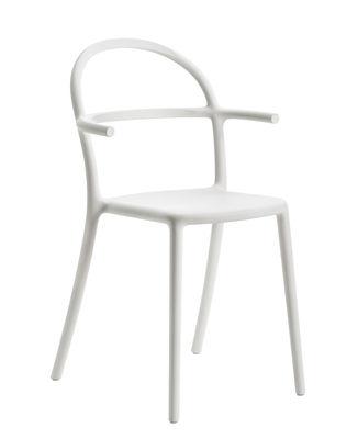 Möbel - Stühle  - Generic C Stapelbarer Sessel / Polypropylen - Kartell - Weiß - Prolypopylen
