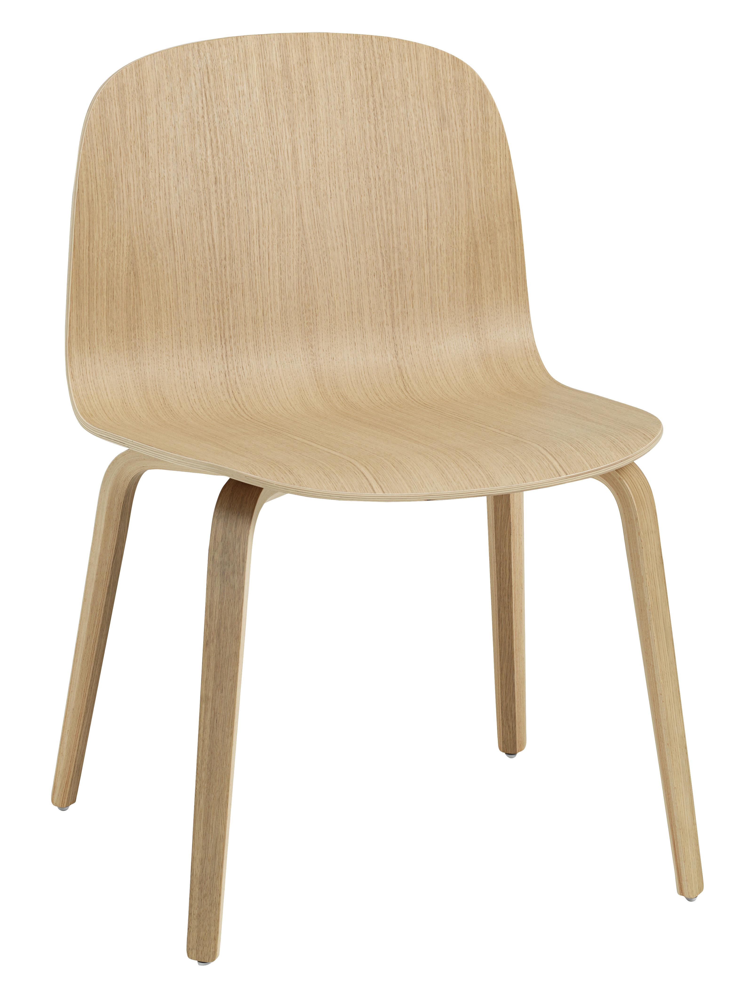 visu breit holz muuto stuhl. Black Bedroom Furniture Sets. Home Design Ideas