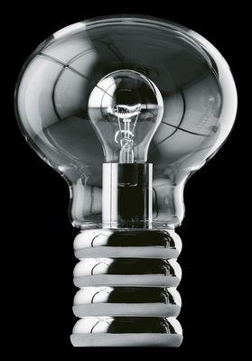 Lighting - Table Lamps - Bulb Table lamp by Ingo Maurer - Chromium - Chromed metal, Glass