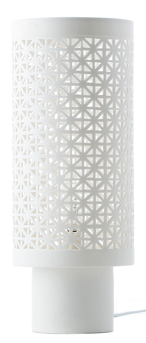 Lighting - Table Lamps - Stars Large Table lamp - / Porcelain - H 38 m by Pols Potten - White - China